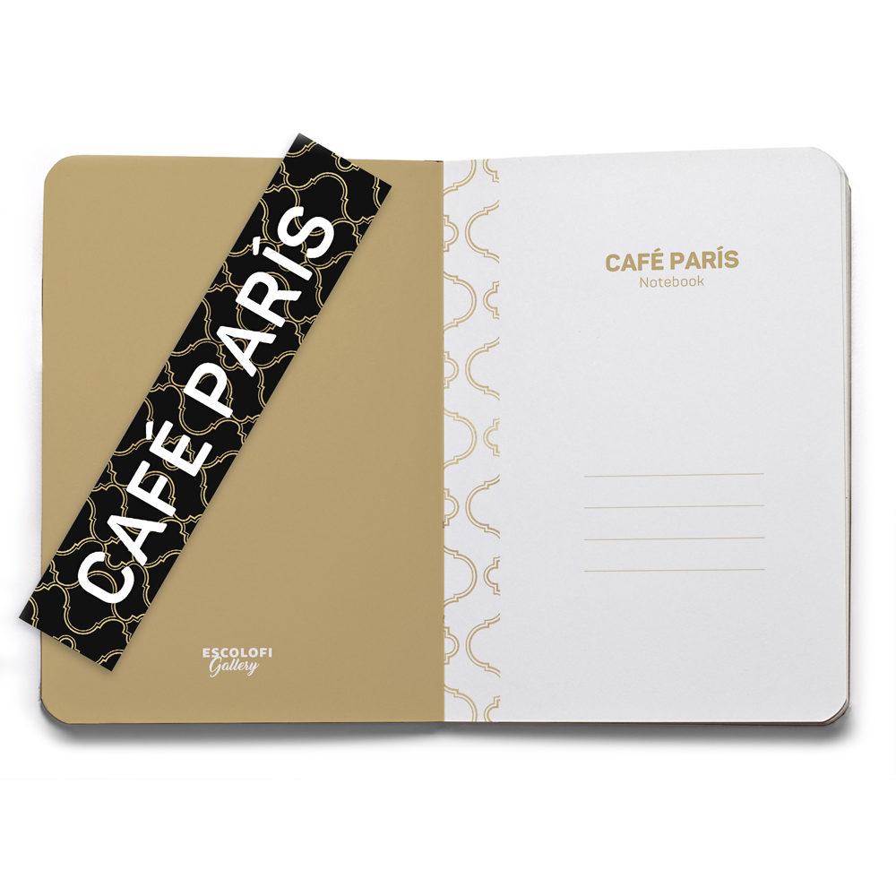 Libreta Café París